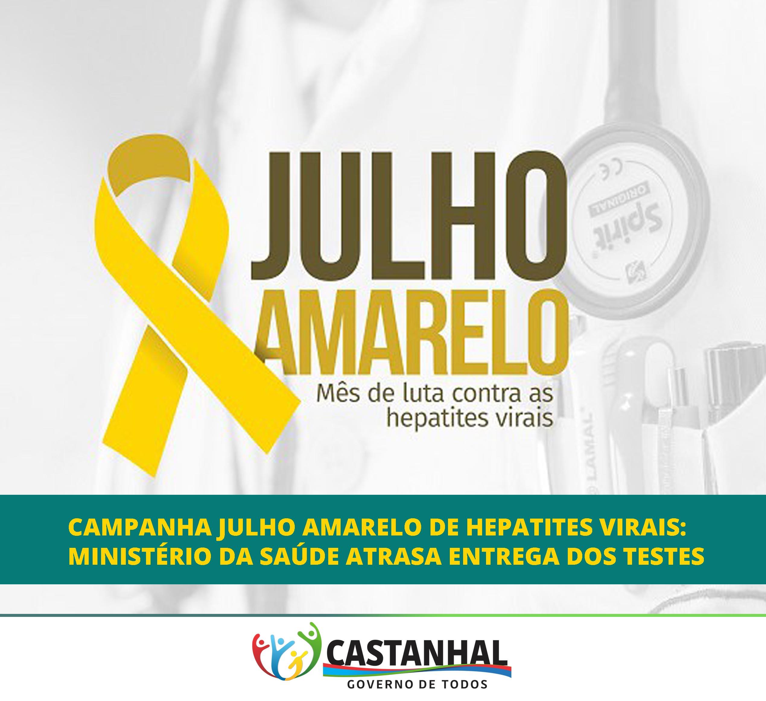 6d8613395cda7 Um atraso, pelo Ministério da Saúde, no envio dos kits para a realização de  teste rápido das hepatites A e B está deixando em ritmo lento a campanha  Julho ...